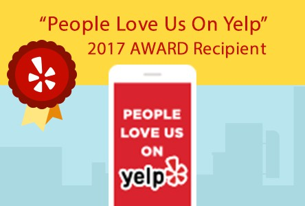 People Love Us On Yelp 2017 Award Recipient