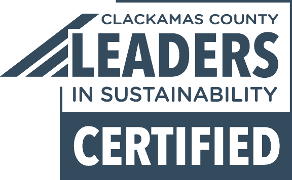 Clackamas County Leaders In Sustainability Certified Logo